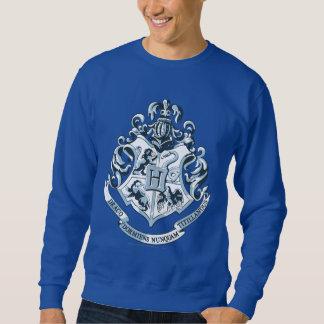 Azul del escudo de Hogwarts Sudadera