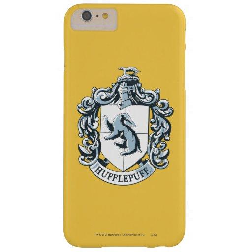 Azul del escudo de Hufflepuff Funda De iPhone 6 Plus Barely There