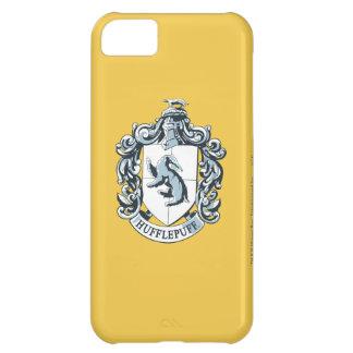 Azul del escudo de Hufflepuff Funda Para iPhone 5C
