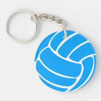 Azul del llavero w/Name del voleibol