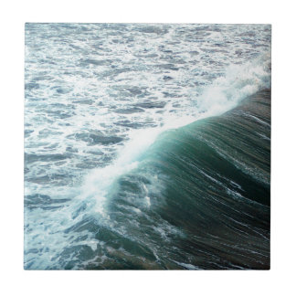 Azul del Océano Pacífico Azulejo De Cerámica