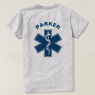 Azul del paramédico de EMT el ccsme Camiseta