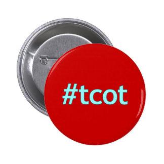 azul del pío del #tcot chapa redonda 5 cm