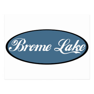 Azul del recuerdo del lago Brome Postal