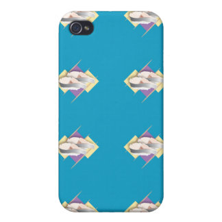 Azul del sushi iPhone 4 cárcasas