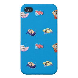 azul del sushi iPhone 4 protector