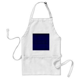 azul delantal