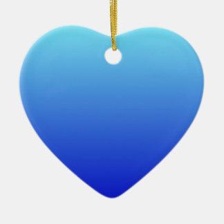 Azul eléctrico a la pendiente horizontal azul ornatos