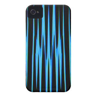 ~ AZUL ELÉCTRICO (de un diseño del arte abstracto) iPhone 4 Case-Mate Carcasa