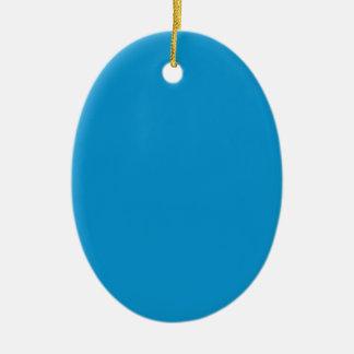 Azul eléctrico rico ornamentos para reyes magos