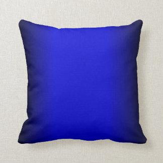 Azul eléctrico sólido cojín decorativo