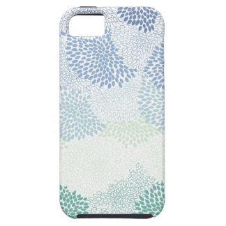 "Azul estallado ""flor"" funda para iPhone SE/5/5s"