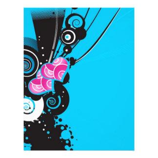 azul-fondo-con-formas flyer a todo color