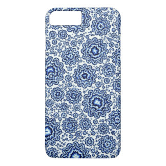 azul foral trippy (c) funda iPhone 7 plus