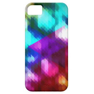 Azul fresco/púrpura del diseño del inconformista iPhone 5 Case-Mate funda