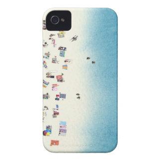 Azul Case-Mate iPhone 4 Funda