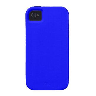 Azul Case-Mate iPhone 4 Carcasa
