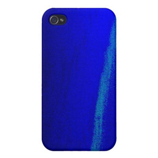 azul iPhone 4/4S fundas