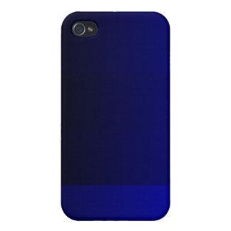 Azul iPhone 4 Cárcasa