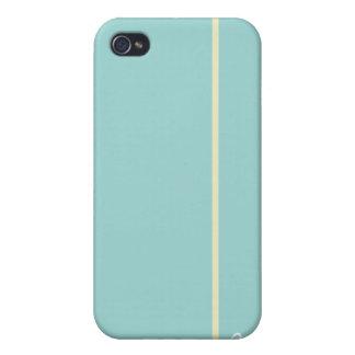Azul iPhone 4/4S Carcasa