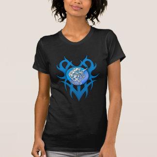 Azul (ideal) del unicornio camisetas