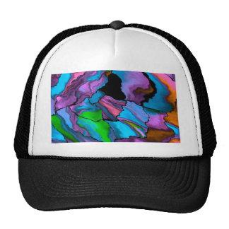 azul loco de los efectos 02 gorras de camionero