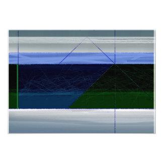 Azul marino abstracto anuncio