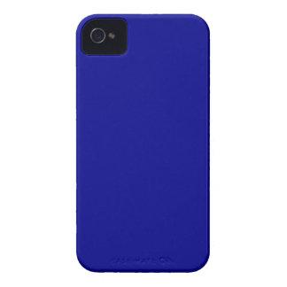 Azul marino iPhone 4 Case-Mate protectores