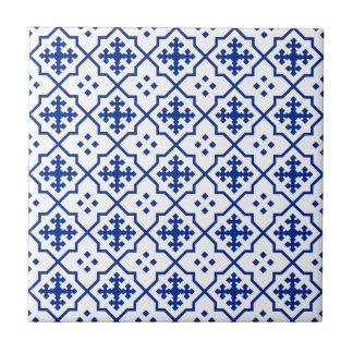 Azul marroquí azulejo de cerámica