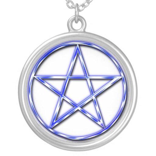 Azul místico collar