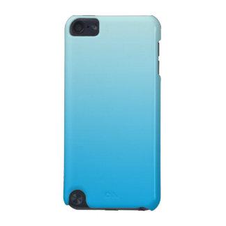 Azul Ombre de la aguamarina Funda Para iPod Touch 5G