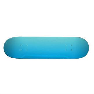 Azul Ombre de la aguamarina Tablas De Skate