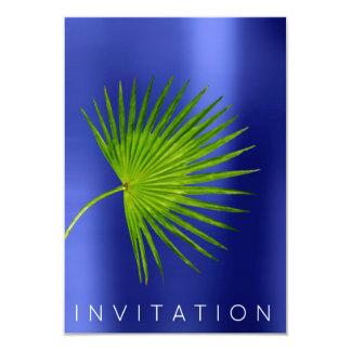 Azul orgánico del cocinero de Kratoon del verdor Invitación 8,9 X 12,7 Cm