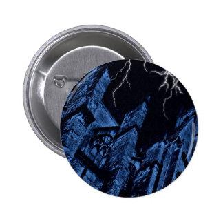 Azul oscuro gótico de la fantasía de la tormenta pin