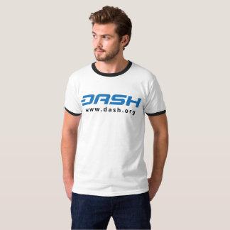 Azul para hombre del campanero de la ROCIADA Camiseta