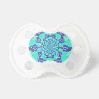 Azul precioso chupetes para bebés