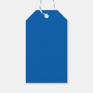 Azul profundo etiquetas para regalos