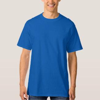 Azul PROFUNDO LRG de la camiseta alta de Hanes de