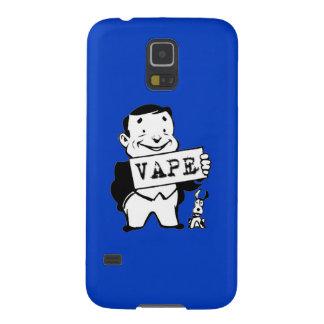 Azul retro rechoncho de Vape del hombre Carcasa Galaxy S5