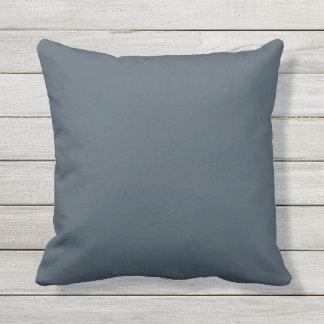 Azul sólido al aire libre OP1009 de la almohada de