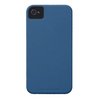 Azul sólido de Mónaco iPhone 4 Funda