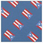 Azul: Tradicional: Bandera de Puerto Rico Tela