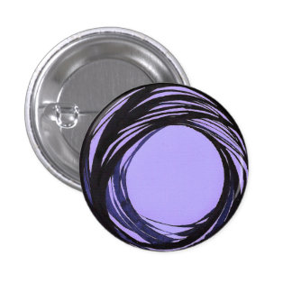 Azul/violeta del botón de la gota de rezo pin