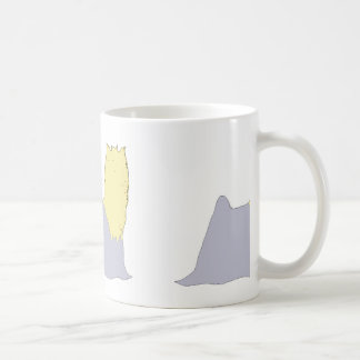 Azul y moreno del silo de Yorkshire Terrier Taza De Café