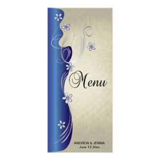 Azul y plata con clase del zafiro del diseño el | tarjetas publicitarias personalizadas