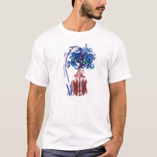 Azul y rojo del synthase del ATP Camiseta