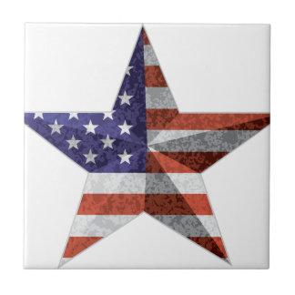 Azulejo 4to del esquema de la estrella de julio con