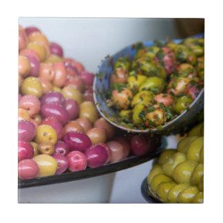 Azulejo Aceitunas en el mercado