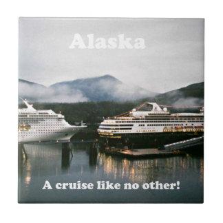 Azulejo ¡Alaska, una travesía tiene gusto de no otra!