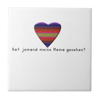 Azulejo Alemán - mamá